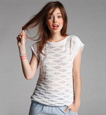 Breipatroon T shirt