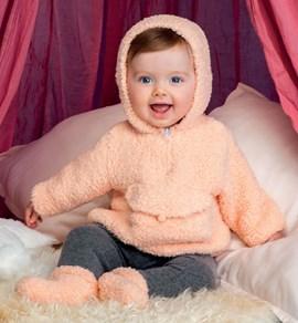 Gebreiden trui voor een baby met ....