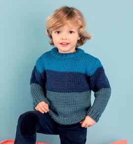 Gebreiden trui voor kinderen met ....