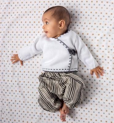 Breipatroon Baby wikkeltrui