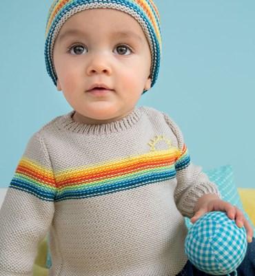 Breipatroon Baby Trui
