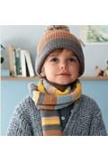 Breipatroon sjaal en muts voor ....