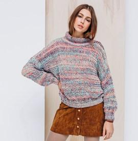 Breipatroon trui op pendikte 7 van het ....