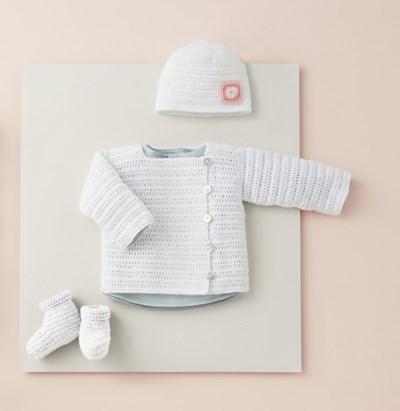 Haakpatroon Vest voor baby