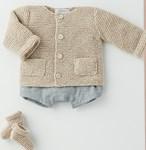 Vest en slofjes voor baby