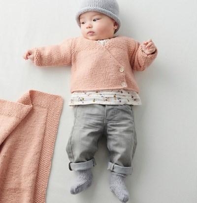 Breipatroon Vest voor baby