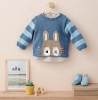 Trui met konijn
