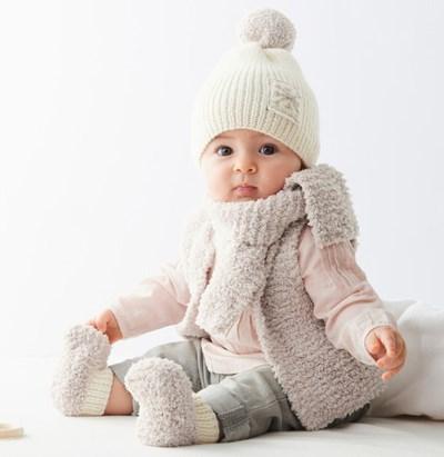 Breipatroon Gilet voor baby