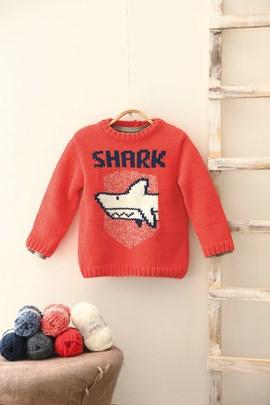 Jongens trui Shark