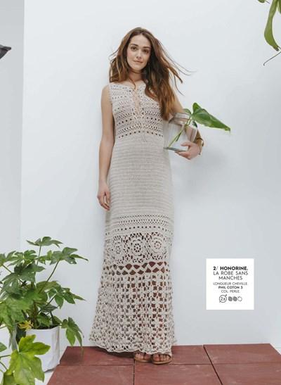 Haakpatroon Dames jurk