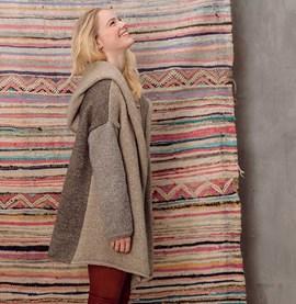 Breipatroon mantel Marianne, heerlijk ....