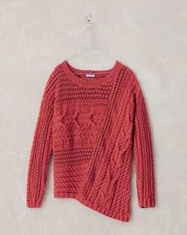 Breipatroon trui Maureen, een zeer ....