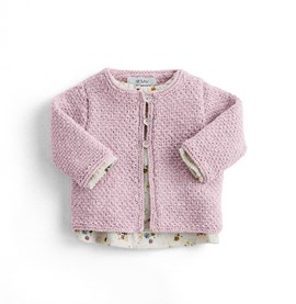 Breipatroon cardigan Virginie, ....