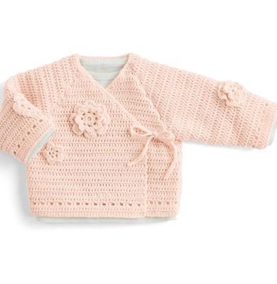 haakpatroon baby-vest