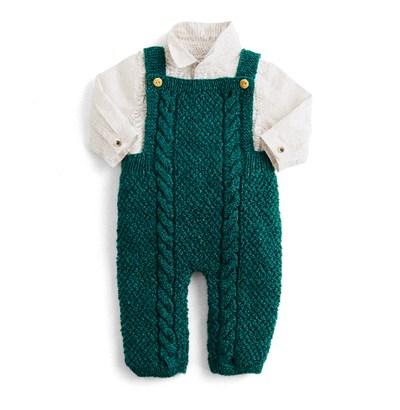 Breipatroon Baby tuinbroek