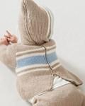 Breipatroon Baby trui van andere kant