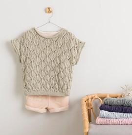 Breipatroon trui Amelie zonder mouwen, ....