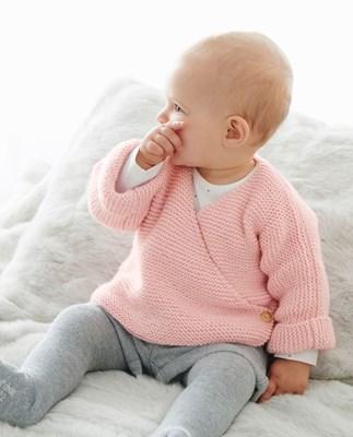 haakpatroon baby-truitje