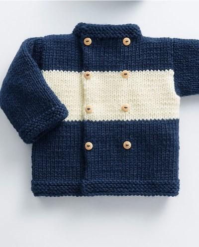 Breipatroon Baby jasje
