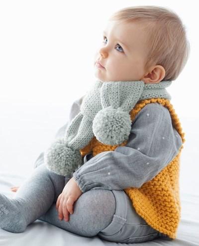 Breipatroon Baby sjaal