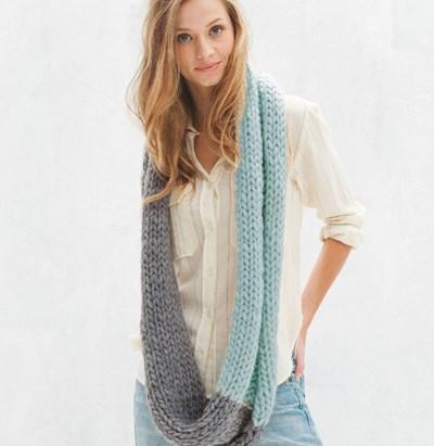 Breipatroon Snood sjaal