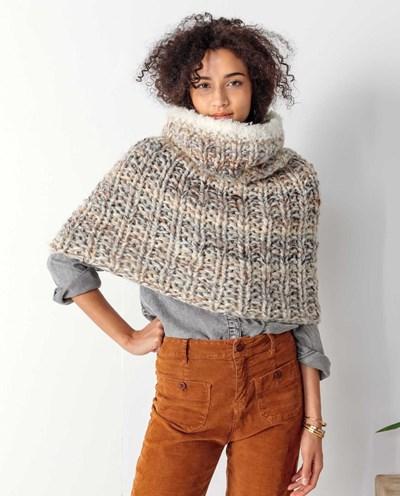 Haakpatroon Snood - sjaal en schouderwarmer
