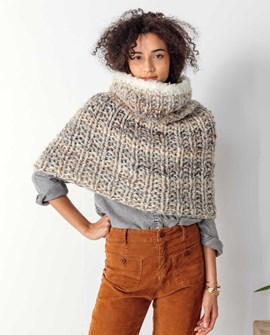 Snood - sjaal en schouderwarmer