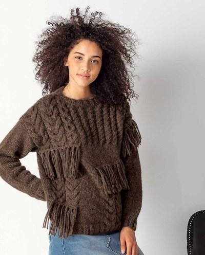 Haakpatroon Dames trui