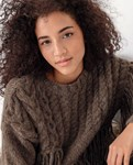 Haakpatroon Dames trui van andere kant