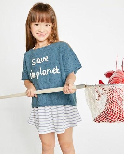 Breipatroon Shirt voor meisjes