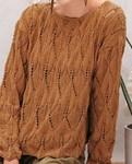 Breipatroon Dames trui van andere kant