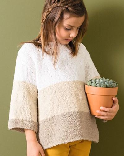 Haakpatroon Meisjes trui