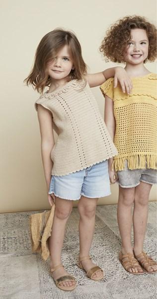Haakpatroon Meisjes shirt