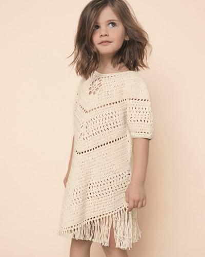 Haakpatroon Meisjes jurk