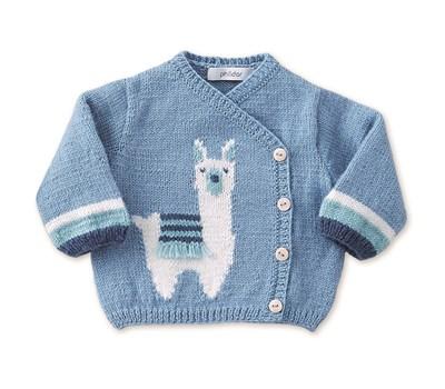 Breipatroon Vest met alpaca