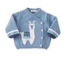 Vest met alpaca