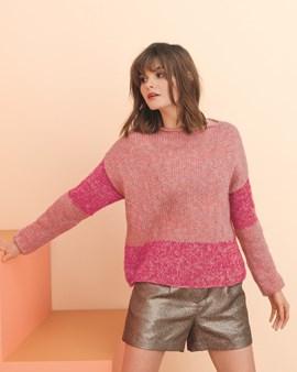 Breipatroon trui voor dames met een ....