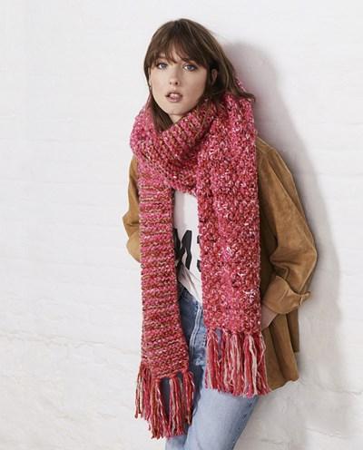 Breipatroon Dames sjaal