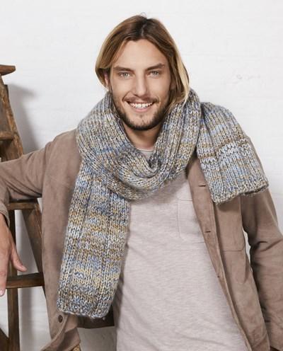 Breipatroon Heren sjaal