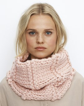 Phildar breipatroon snood Talhia, deze ....