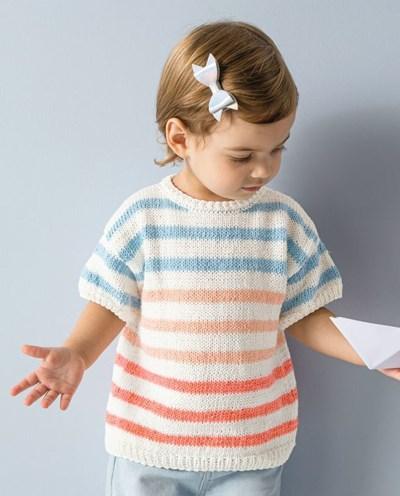 Breipatroon Meisjeshemdje