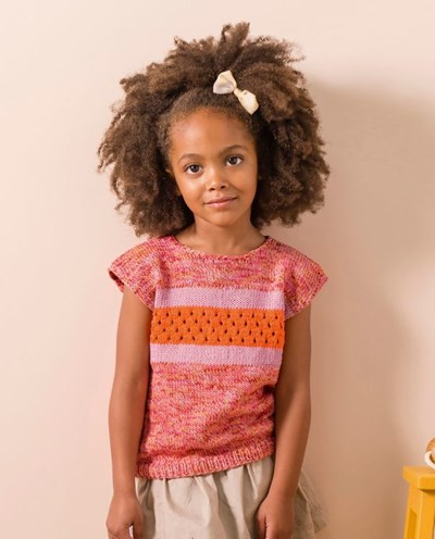 Breipatroon Meisjeshemd