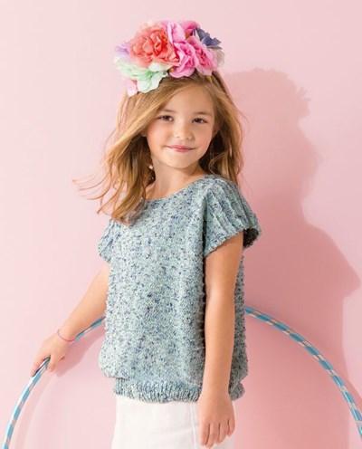 Breipatroon Meisjesshirt