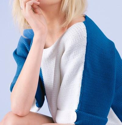 Breipatroon Kimono trui