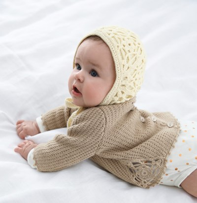 Haakpatroon mutsje voor baby