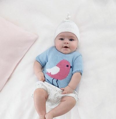 Breipatroon Muts voor baby