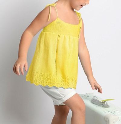 Breipatroon Topje voor meisjes
