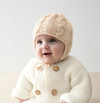 Breipatroon Babymuts