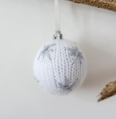 Breipatroon Kerstbal