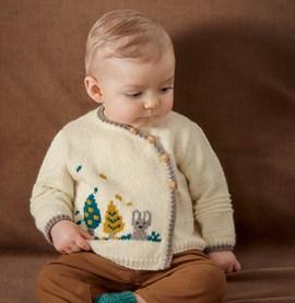 Baby trui met konijntje
